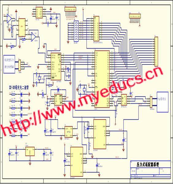 数据采集电路pcb的设计与制作图片演示